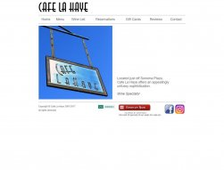 Cafe La Haye
