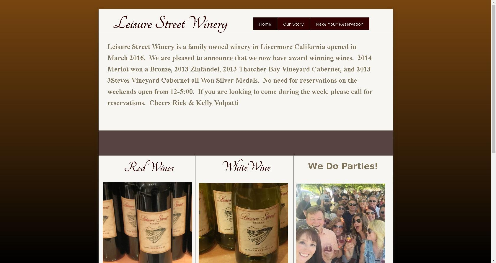 Leisure Street Winery Apex Transportation And Tours