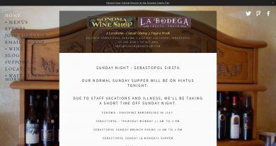 Sonoma Wine Shop Apex Transportation And Tours